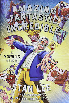 Books in my collection: Amazing Fantastic Incredible by Stan Lee and Peter David and Colleen Doran