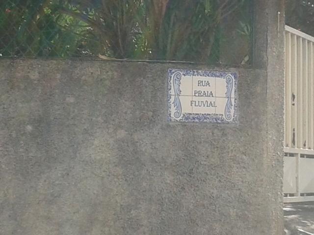 Rua da Praia Fluvial