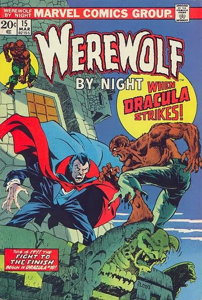 Werewolf by Night #15, Dracula