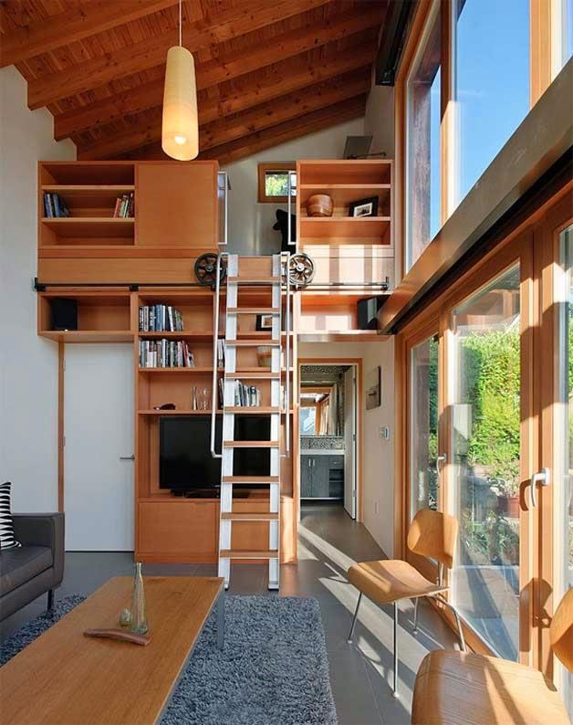 Cóomo optimizar los espacios en áticos