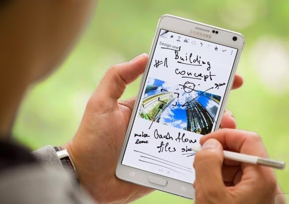 Galaxy Note 4-Smartphone Samsung Android Terbaik