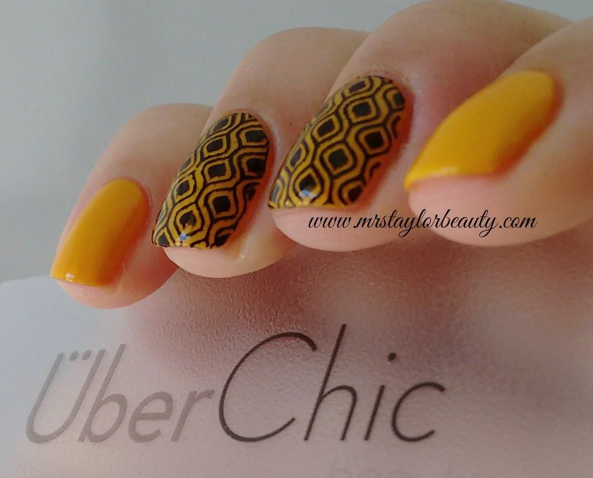 Esmalte, Gio Antonelli, Empolgação, Frescurites Femininas, Amarelo, Esmalte Amarelo, Yellow nail polish, Uber Chic nail plate