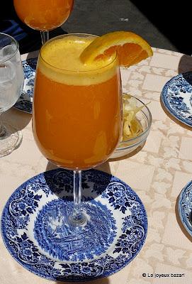 Rome : les fameux jus d'orange de la piazza Santa Maria in Trastevere