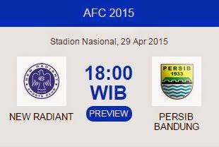 New Radiant vs Persib Bandung