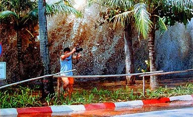 Tsunami in Thailand at Patong