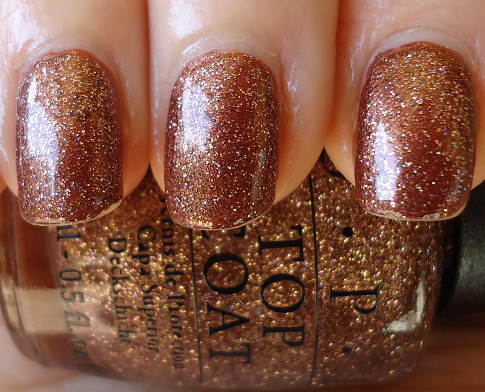 Making up 4 my age: OPI: Nutcracker Sweet glitter top coat