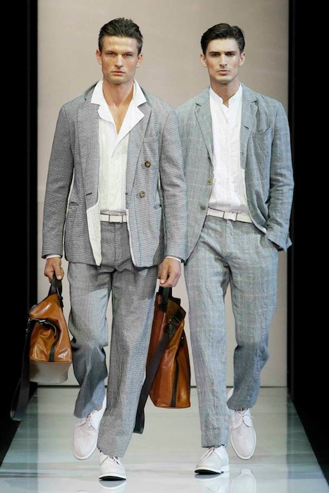 Giorgio Armani S/S 2013 Men's Fashion-1
