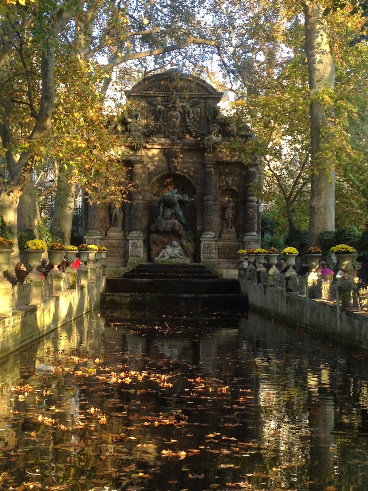 La fontaine Médicis, Jardin du Luxembourg, Paris