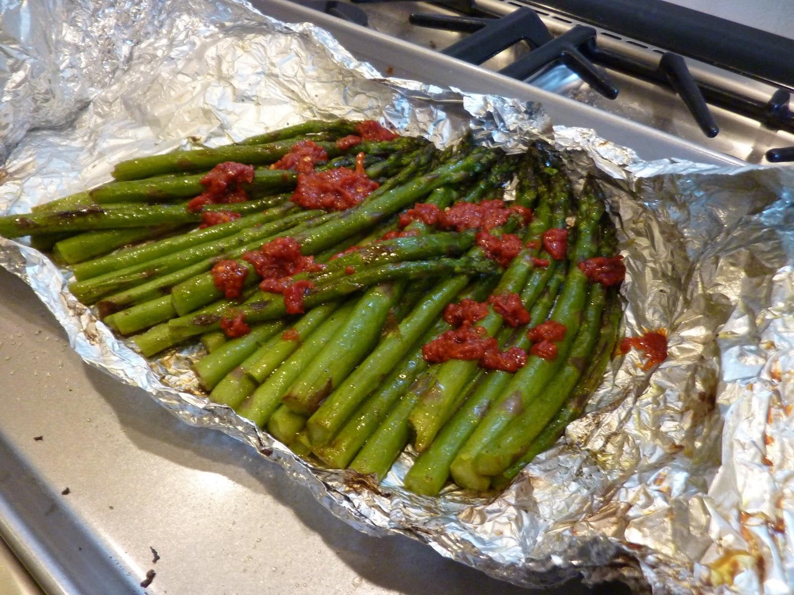 Grilled Asparagus Recipe — Dishmaps
