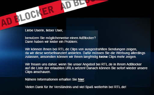 Screenshot rtl.de
