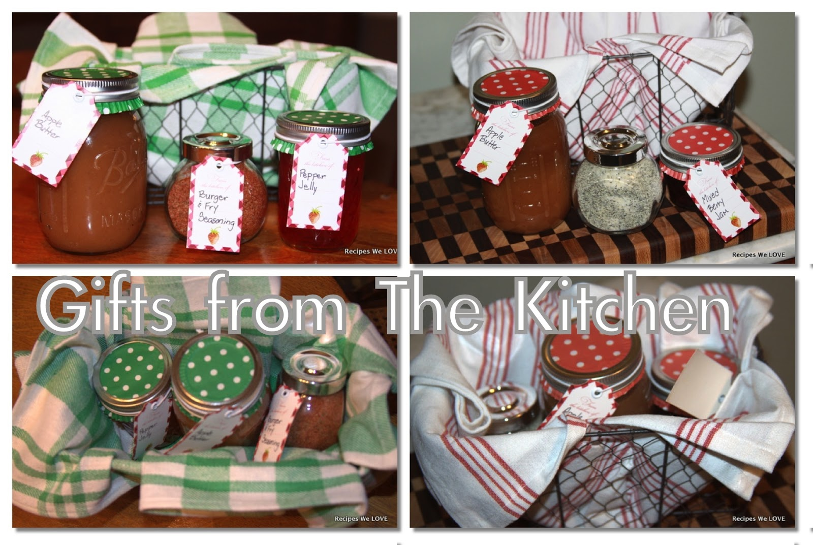 recipes we love gifts from the kitchen idea 1