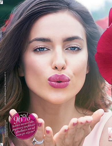 irina shayk katalog avon 2013