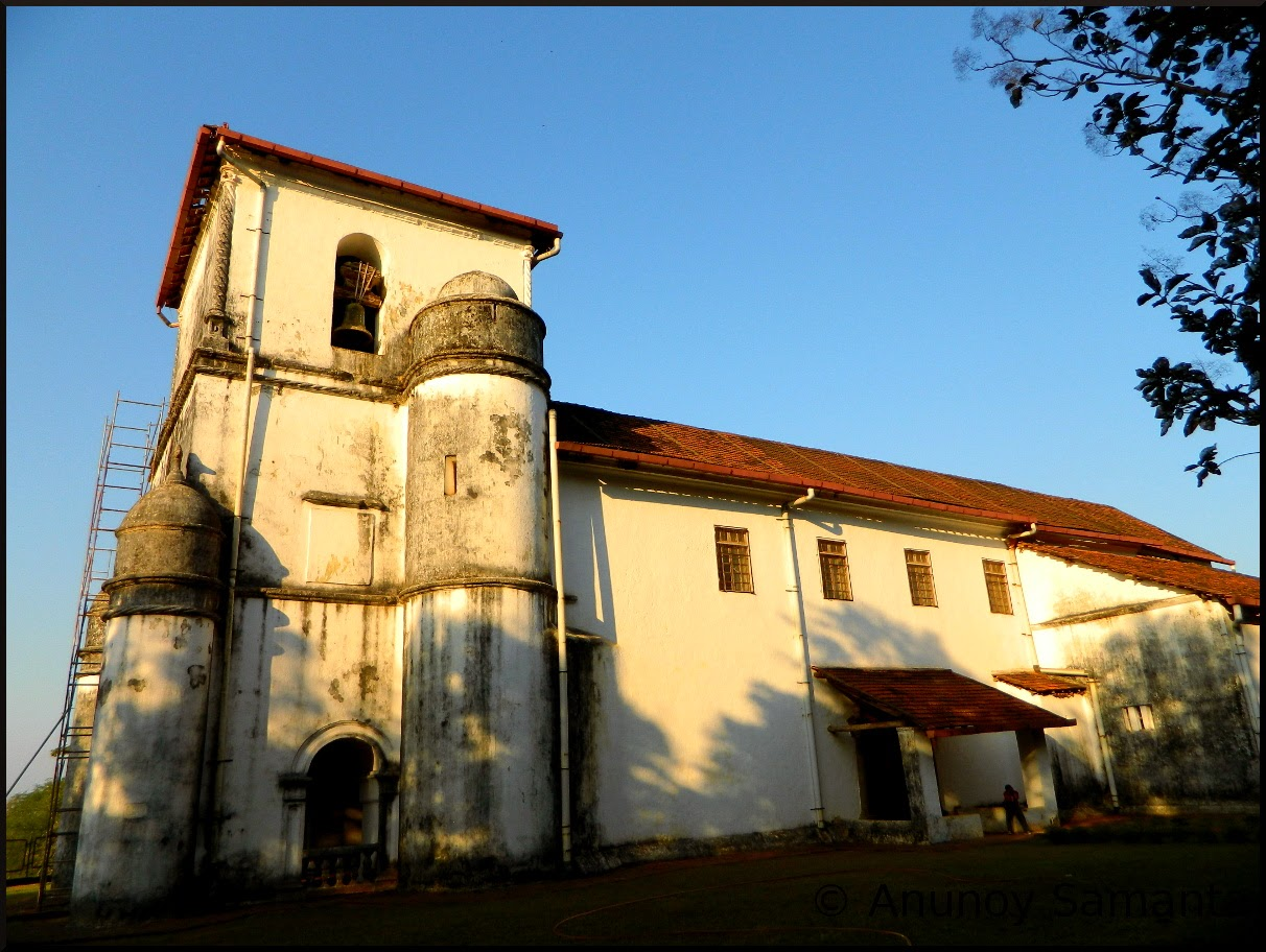 Old Goa Monuments - Church of Our Lady of the Rosary