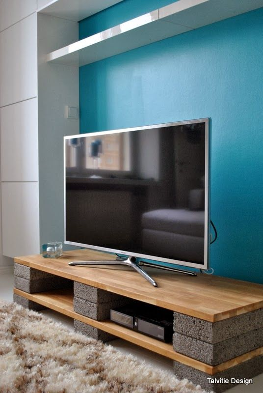 Muebles para la televisin hechos de palet Alquimia Deco