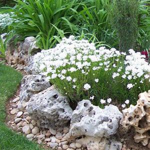Decora el hogar jardines decorados con piedra 2013 - Como decorar jardines con piedras ...
