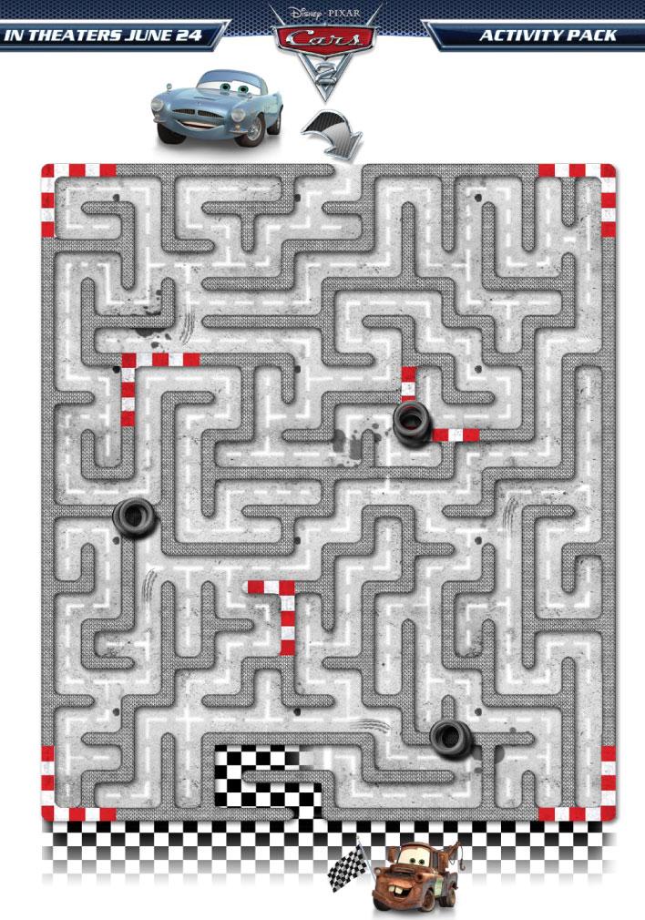 juegos cars2 laberinto