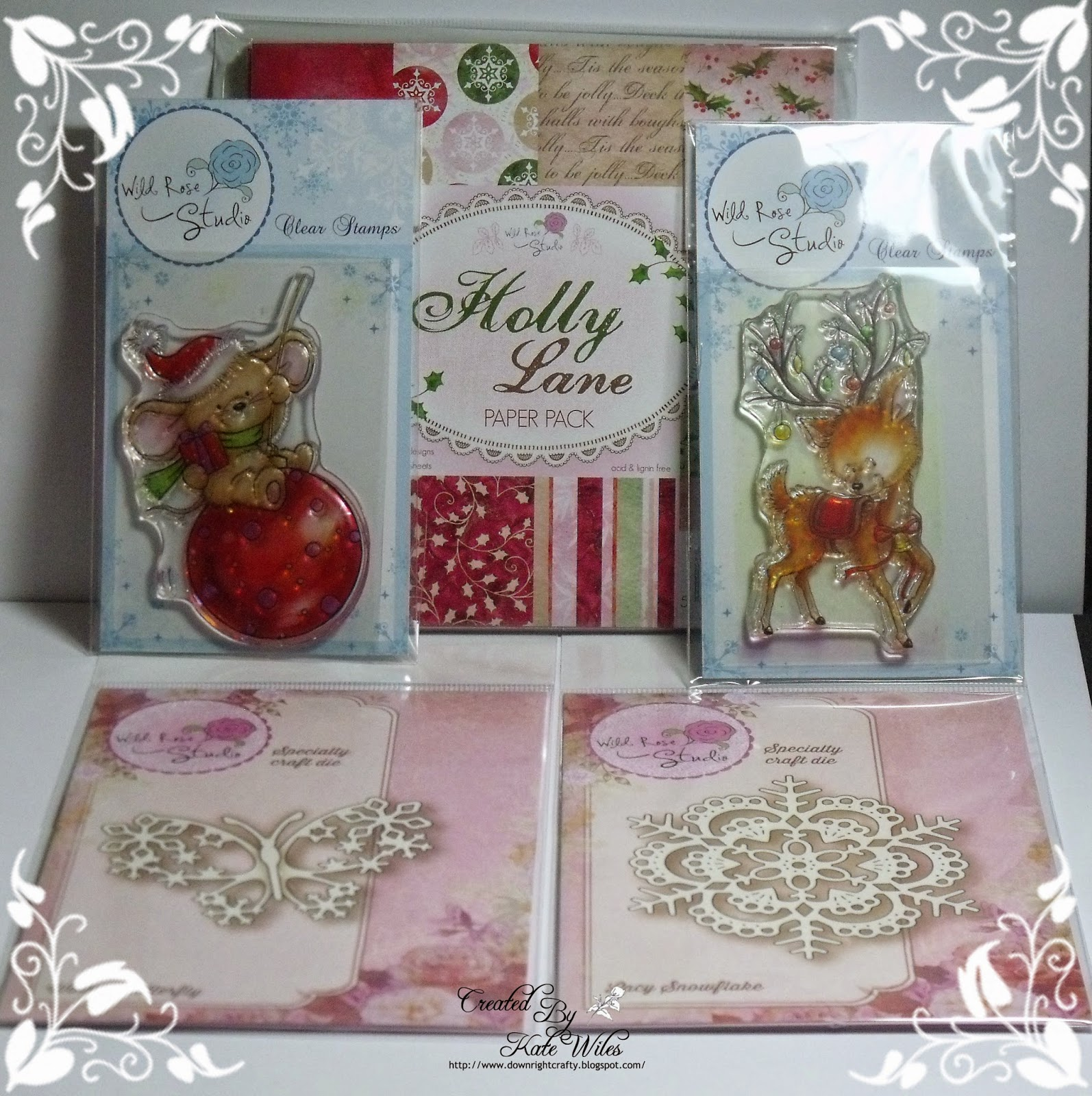 Wild Rose Studio Mega Christmas Candy