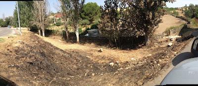 Incendio en la Calle Egido - Pedrezuela