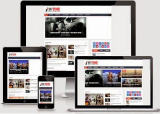 Intime - Responsive SEO Blogger Template