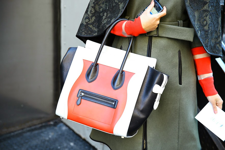 On Que Style: New York Fashion Week Highlight: Celine Bags Are ...
