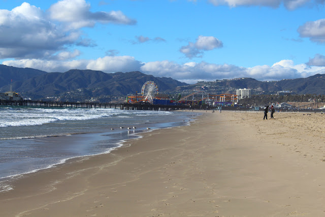 Santa Monica beach - weekend in Los Angeles, travel blog