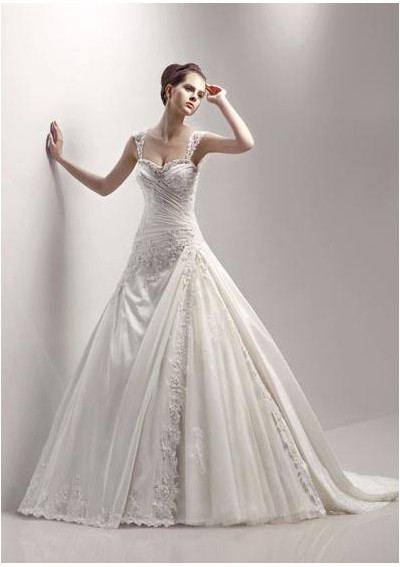 Wedding Gowns  Sleeves on Bridal Gowns With Cap Sleeves  Bridal Dresses