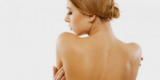 how to get rid of acne on the back is naturally and fast.
