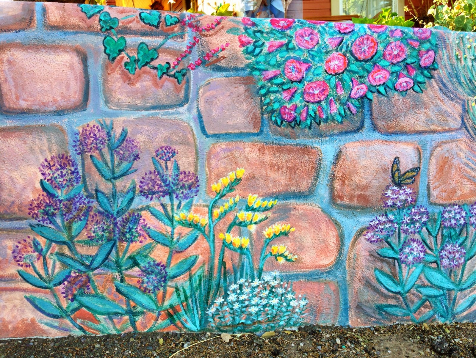 Wall Painting in Bisbee