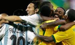 BRASIL E ARGENTINA EM GOIÂNIA