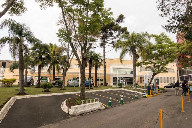 Hospital Universitário Cajuru em Curitiba