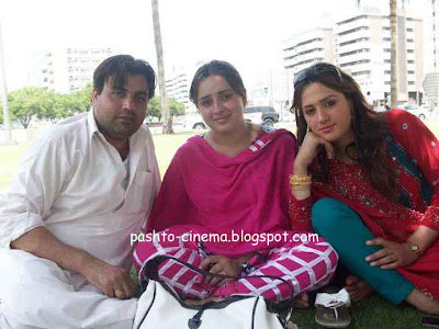 Nadia Gul and Pashto Bold Heroine Dua Qureshi