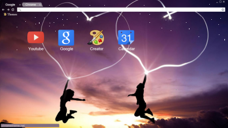 tao theme cho chrome