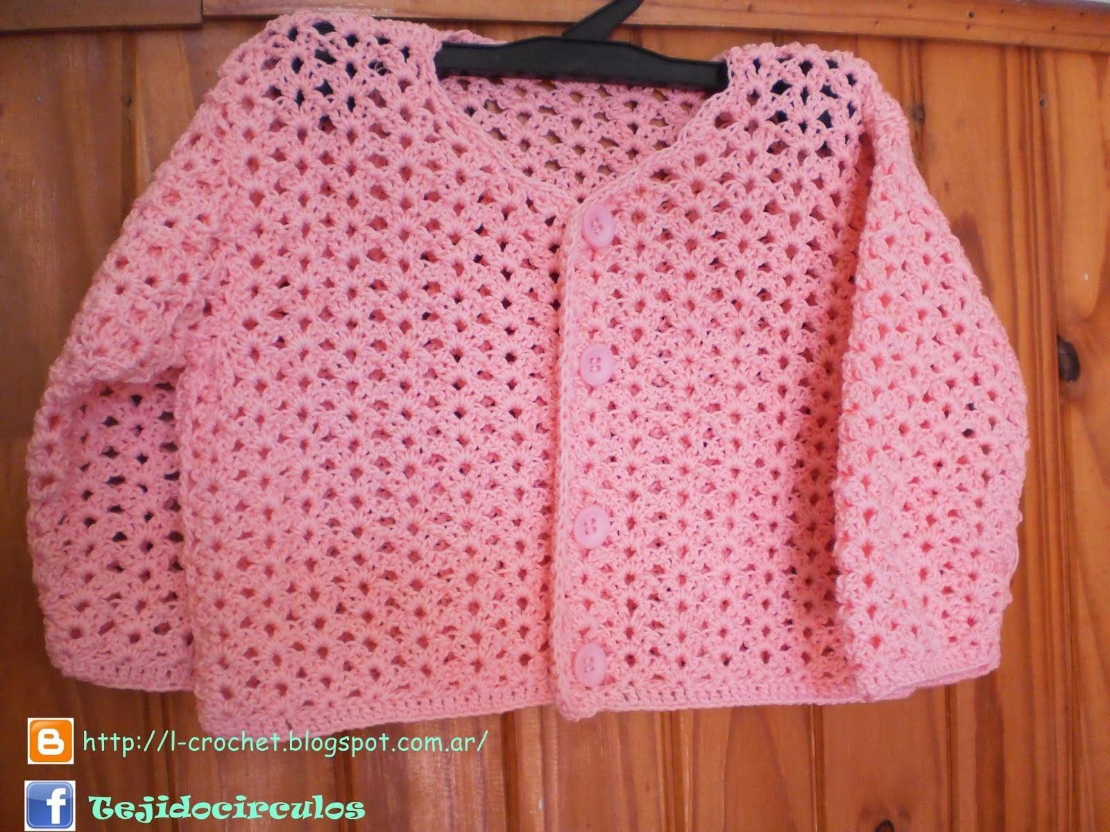 Camperitas/ saquito para bebé 8-12 meses tejidos al crochet en hilado ...