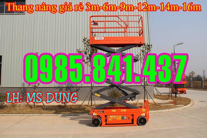 Thang nâng ziczac tự hành 300-500 kg