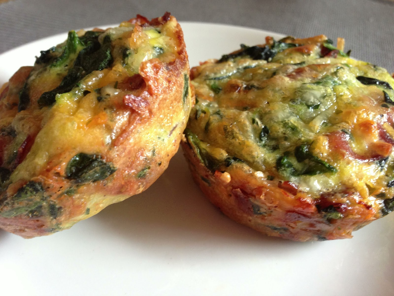 Crustless Mini Quiche Recipe