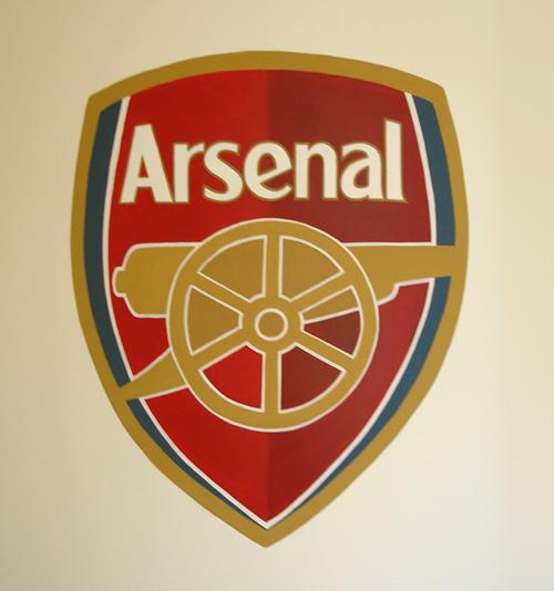 History of all logos all arsenal logos for Arsenal mural wallpaper