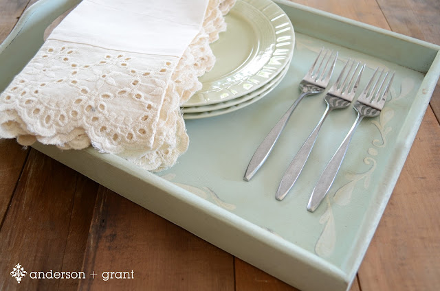 Miss Mustard Seed Inspired Tray | www.andersonandgrant.com
