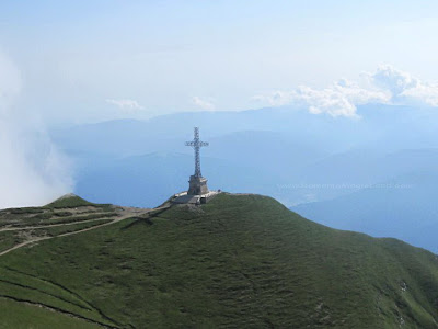 The Heroes Cross / Heroes Monument / Crucea Eroilor, Caraiman Peak, Varful Caraiman, Romania
