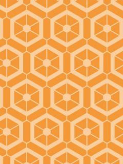 絹の糸繰り機をイメージしたパターン柄