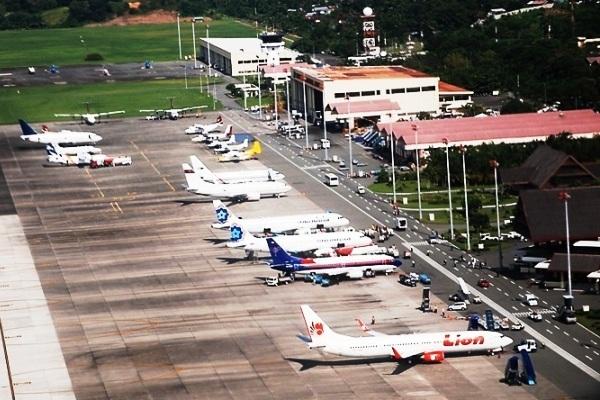 Bandara Sepinggan Balikpapan Kalimantan Timur