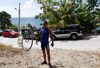 triathlon training in Laiya