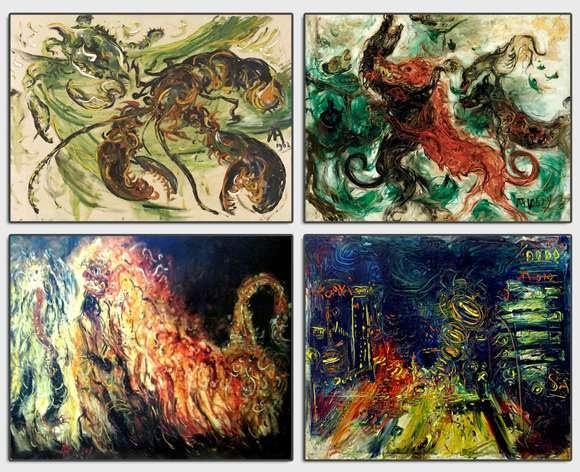 Koleksi Lukisan Karya Affandi