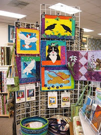 Raven and Friends Collection of Art Quilt Patterns at The Quilt Tree in Anchorage