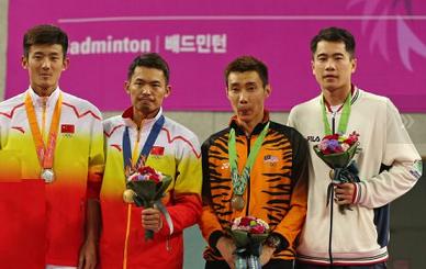 Perseorangan Badminton Sukan Asia 2014