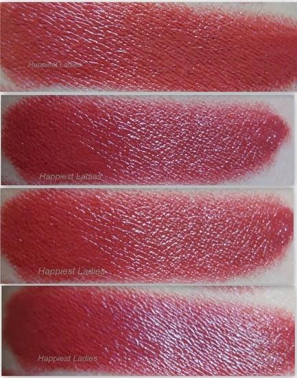 Benefit Lipstick Wild Card Swatch