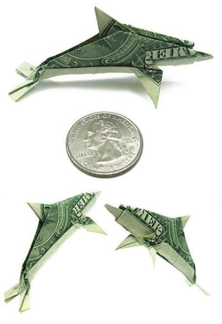 Money fish origami image search results for Dollar bill koi fish