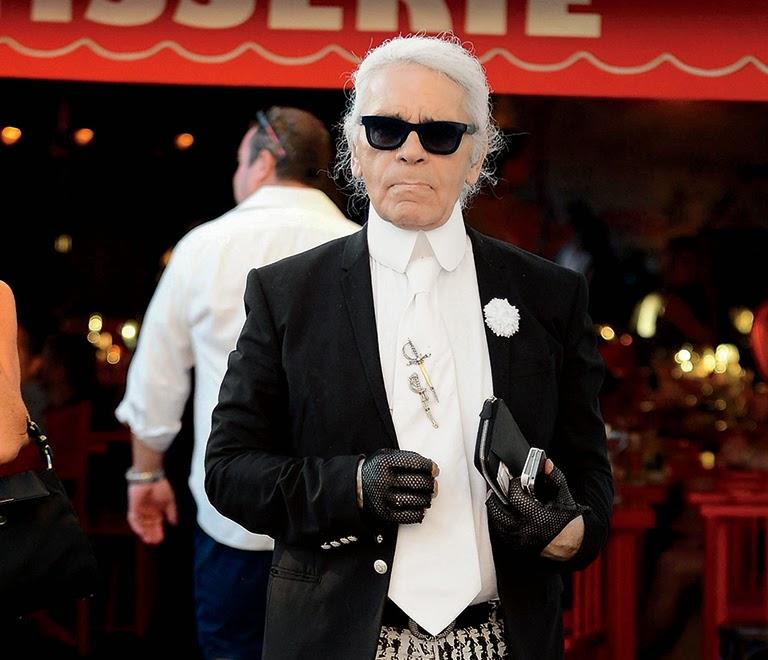 Rayas y cuadros blog de moda masculina los mejores for Karl lagerfeld fotografo