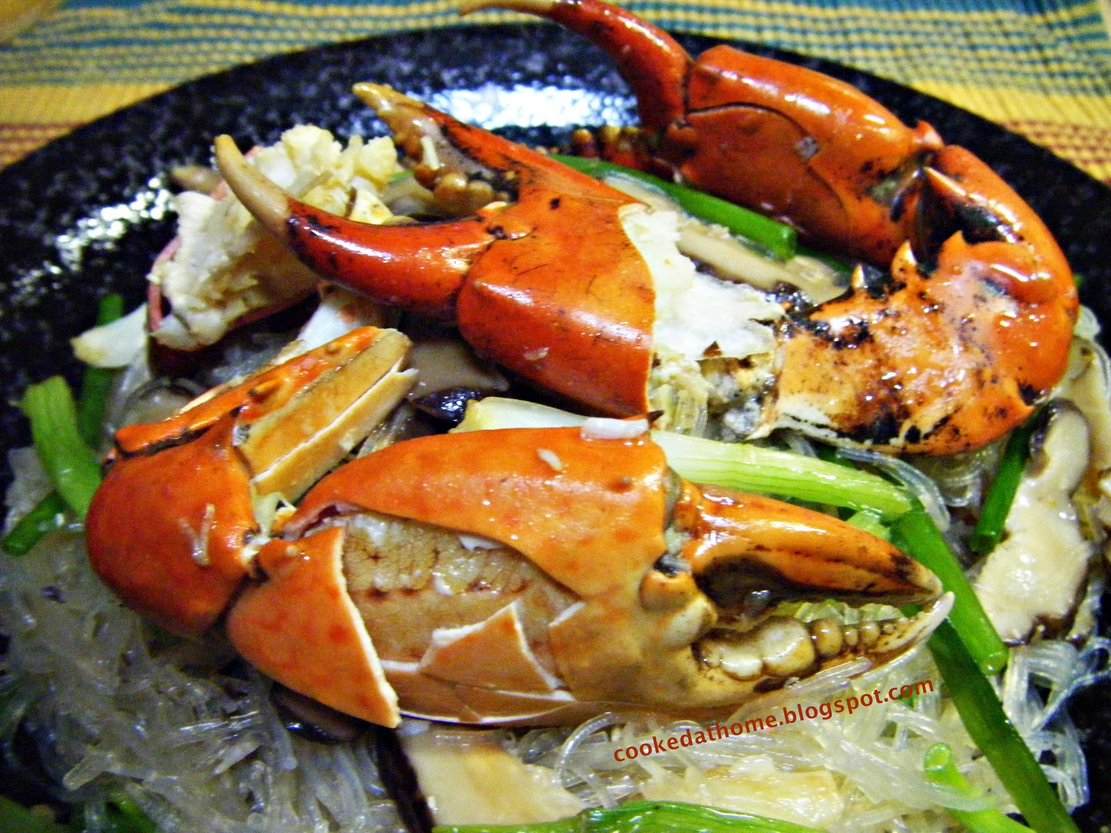 Cooking @ Home: Crab Claw Glass Noodles (Tanghoon)