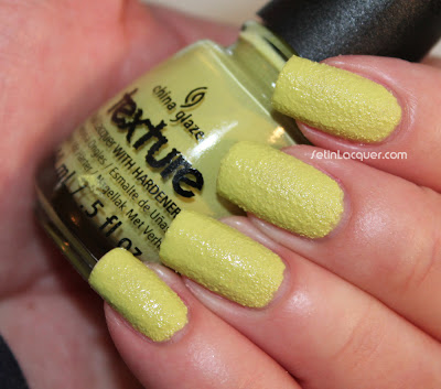 China Glaze Textures - In The Rough