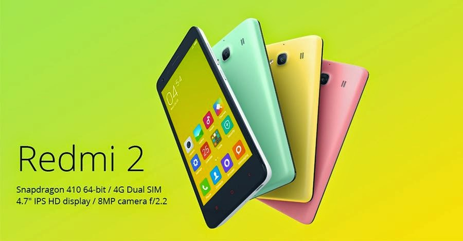 Harga Hp Dan Spesifikasi Xiaomi Mi Redmi 2